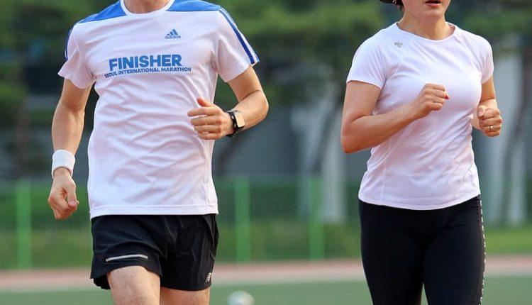 running shorts.